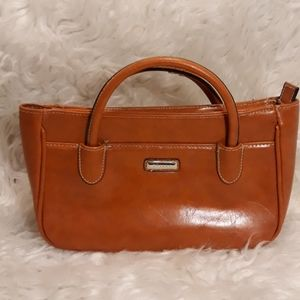 Strada orange mini purse